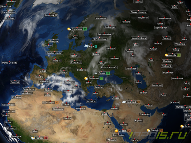 EarthBuzz 3D Weather