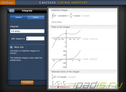 Wolfram Calculus Course Assistant – библия для студента