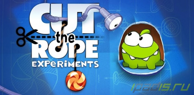 Cut the Rope: Experimets - старая-новая игра