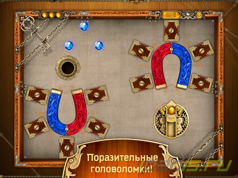 Slingshot Puzzle HD - Must-HAVE головоломка от Alawar