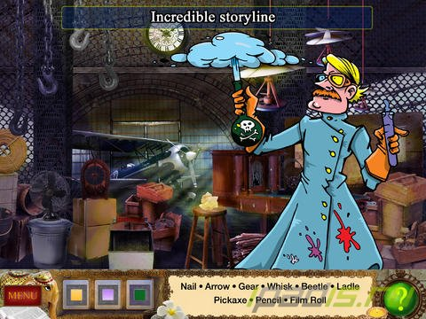 Detective Holmes: Trap for the Hunter – Hidden Objects Adventure