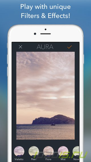 FREE APP OF THE DAY — фоторедактор Aura
