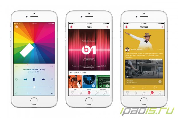 Новый сервис AppleMusic будет запущен 30 июня