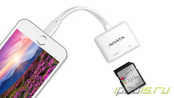 ADATA представила Lightning Card Reader